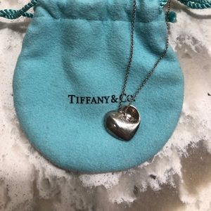 Tiffany & Co. Heart shaped necklace